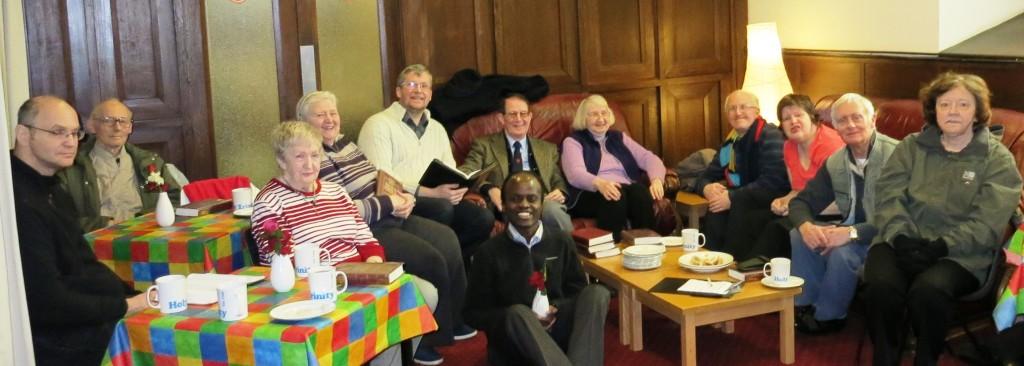 Focus Group at Holy Trinity Church Warrington