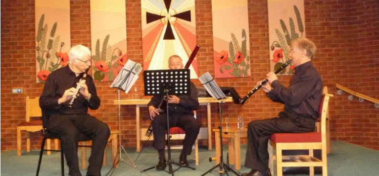 Kell Wind Trio Saturday lunchtime concert