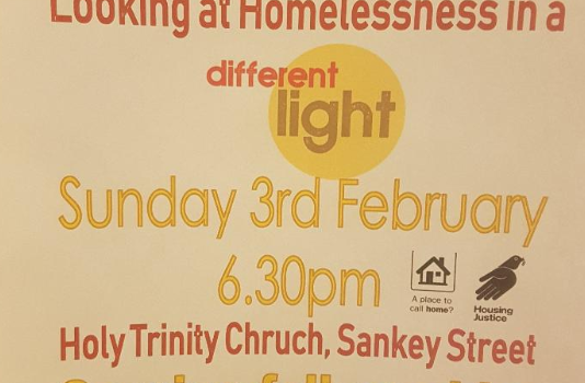 National Homeless Sunday 2019