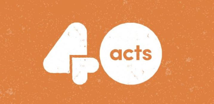 40acts Lent Challenge