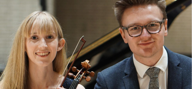 Laura Embrey – Violin  Mackenzie Paget – Piano WACIDOM Saturday Lunchtime Concert